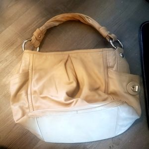 Coach Parker Hobo bag in beige